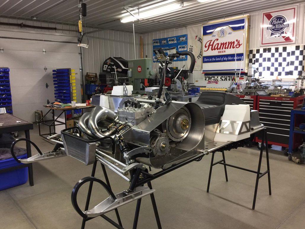 Vintage Polaris Racing Sleds Starfires-RXL's Troy Pierce Racing